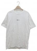 Supreme(シュプリーム)の古着「ロゴプリントTシャツ」|ホワイト×ブラック