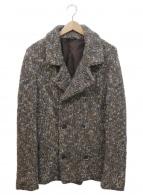 BARENA(バレナ)の古着「ニットジャケット」|ブラウン