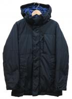 PRINGLE1815(プリングルエイティーンフィフティーン)の古着「ダウンジャケット」|ブラック×ブルー
