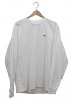 Supreme(シュプリーム)の古着「スモールボックスロゴカットソー」|ホワイト×レッド