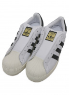 adidas(アディダス)の古着「ローカットスニーカー」 ホワイト×ブラック