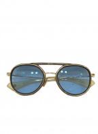 DITA(ディータ)の古着「サングラス」|ゴールド×ブルー