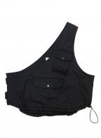 rin(リン)の古着「Postman Bom Vest」|ブラック