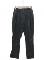 rin(リン)の古着「ルーズナイロンパンツ」|ブラック