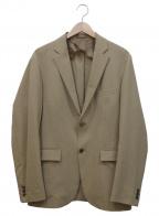 EDIFICE(エディフィス)の古着「VERTICALトロピカル2Bテーラードジャケット」 ベージュ