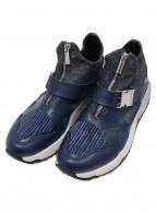 ()の古着「ローカットスニーカー」|ブルー×インディゴ