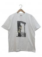 Supreme×ANTIHERO(シュプリーム×アンタイヒーロー)の古着「コラボプリントTシャツ」|ホワイト×ブラック