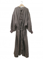 ARGUE(アギュー)の古着「リネンコート」|ブラウン