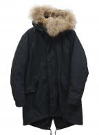 AMERICAN RAG CIE(アメリカンラグシー)の古着「ライナー付モッズコート」|ブラック