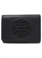 TORY BURCH(トリーバーチ)の古着「2つ折り財布」|ブラック