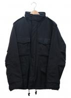 ASPESI(アスペジ)の古着「中綿ミリタリーブルゾン」|ブラック