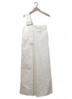 UN3D.(アンスリード)の古着「ワンショルダーオーバーワンピース」|ホワイト