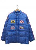 STYLE EYES(スタイルアイズ)の古着「中綿ジャケット」|ブルー×レッド