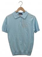 FRED PERRY(フレッドペリー)の古着「ポロシャツ」|スカイブルー