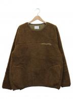 CAL O LINE(キャルオーライン)の古着「フリースジャケット」 カーキ