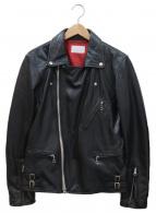 LHP(エルエイチピー)の古着「ダブルライダースジャケット」|ブラック