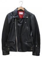 LHP(エルエイチピー)の古着「ダブルライダースジャケット」 ブラック