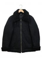 wjk(ダブルジェイケイ)の古着「ボアカラージャケット」|ブラック