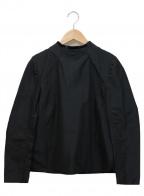 TOGA ARCHIVES(トーガ・アーカイブス)の古着「カラー切替プルオーバーブラウス」|ブラック