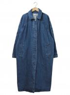 moussy(マウジー)の古着「オーバーデニムコート」 インディゴ