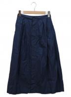 FWk Engineered Garments(エフダブリューケーエンジニアードガーメンツ)の古着「コットンタックスカート」|ネイビー