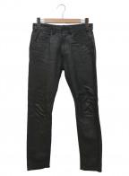 YSTRDYS TMRRW()の古着「レザーパンツ」|ブラック