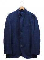 LORO PIANA(ロロピアーナ)の古着「3Bカシミヤテーラードジャケット」 ネイビー