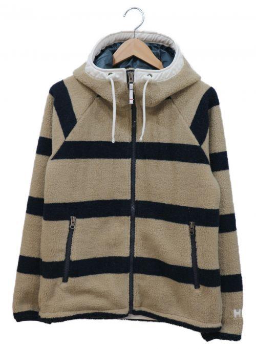 HELLY HANSEN(ヘリー ハンセン)HELLY HANSEN (ヘリーハンセン) フリースジャケット ベージュ サイズ:S HE51612の古着・服飾アイテム
