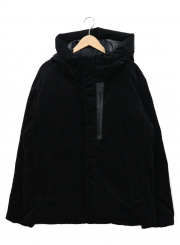 BEAUTY&YOUTH(ビューティーアンドユース)の古着「SC CORDUROY DOWN JKT」|ブラック