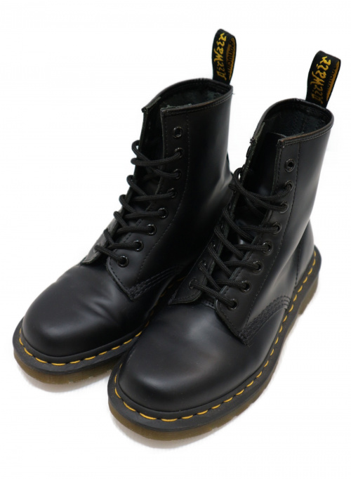 Dr.Martens(ト゛クターマーチン)Dr.Martens (ドクターマーチン) 8ホールブーツ ブラック サイズ:UK5 1460の古着・服飾アイテム
