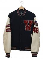 VAN(ヴァン)の古着「アワードジャケット」|アイボリー×ネイビー