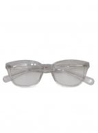 ()の古着「別注伊達眼鏡」|スケルトン