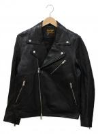 417 by EDIFICE(417 バイ エディフィス)の古着「ライダースジャケット」|ブラック