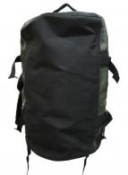 ()の古着「ダッフルバッグ」|ブラウン×グリーン