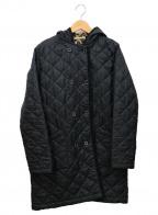 Traditional Weatherwear(トラディショナルウェザーウェア)の古着「フリースライナーキルティングコート」|ブラック