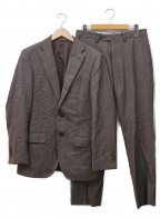 BEAMS HEART(ビームスハート)の古着「2Bスーツ」|ダークブラウン