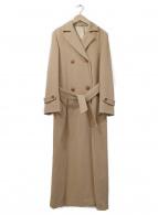 MAX&Co.(マックスアンドコー)の古着「ロングコート」|ベージュ