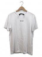 N°21 numero ventuno(ヌメロ ヴェントゥーノ)の古着「プリントTシャツ」 ホワイト