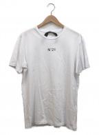 N°21 numero ventuno(ヌメロヴェントゥーノ)の古着「プリントTシャツ」|ホワイト