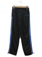 ADER error(アーダーエラー)の古着「サイドラインパンツ」 ブラック