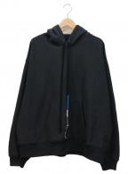 FACETASM(ファセッタズム)の古着「BRAID CORD HOODIE」 ブラック
