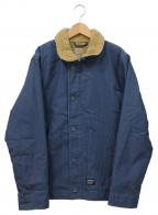 CarHartt(カーハート)の古着「デッキジャケット」 ネイビー