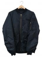 ()の古着「リバーシブルMA-1ジャケット」|ネイビー