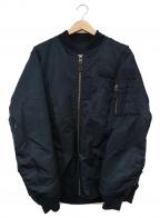 X-LARGE(エクストララージ)の古着「リバーシブルMA-1ジャケット」 ネイビー