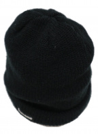 SUPREME(シュプリーム)の古着「ロゴ刺繍ニット帽」|ブラック
