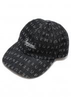 SUPREME(シュプリーム)の古着「Jacquard Logos Denim 6-Panel」 ブラック