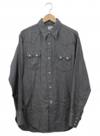 LEVI'S()の古着「復刻ウエスタンネルシャツ」 グレー×ブラック