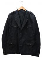 GUCCI(グッチ)の古着「サファリジャケット」|ブラック