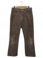 LEVI'S(リーバイス)の古着「コーデュロイストレートパンツ」|ブラウン