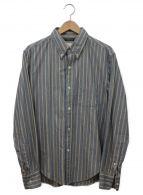 ()の古着「ボタンダウンシャツ」 ブルー
